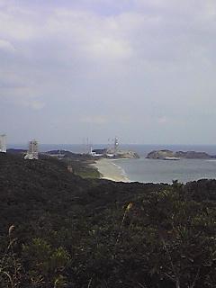 種子島の発射台